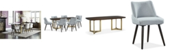 Kenas Home Hotel Collection Derwick Dining Furniture, 7-Pc. Set (Table & 6 Side Chairs), Created for Macy's