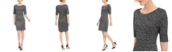 Connected Petite Starburst Sheath Dress