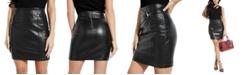 GUESS Chasca Overlap-Detail Hardware-Detail Skirt