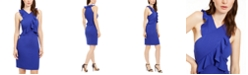 Trina Turk Avebury Crisscross Ruffle Dress