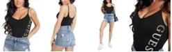 GUESS Sasha Graphic Thong Bodysuit