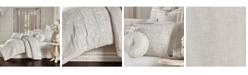 J Queen New York Lauralynn Beige Full 4pc. Comforter Set