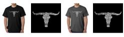 LA Pop Art Men's Word Art T-Shirt - Outlaws