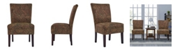Handy Living Dennis Paisley Chairs, 2 Pack