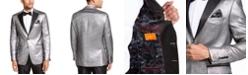 Tallia Men's Slim-Fit Silver Metallic Dinner Jacket