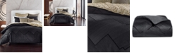 Hotel Collection Linear Chevron Full/Queen Duvet, Created for Macy's