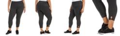 Calvin Klein Plus Size Active Keyhole-Hem Leggings
