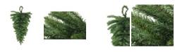 Northlight Canadian Pine Artificial Christmas Teardrop Door Swag - Unlit