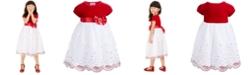 Blueberi Boulevard Toddler Girls Velvet Sequined Dress