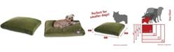Majestic Pet Villa Micro-Velvet Rectangle Dog Bed