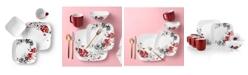 Corelle Boutique 16 Piece Set, Chelsea Rose