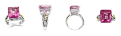EFFY Collection EFFY® Pink Topaz (14-3/4 ct. t.w.) Ring in Sterling Silver