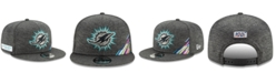 New Era Miami Dolphins On-Field Crucial Catch 9FIFTY Snapback Cap