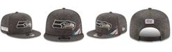New Era Seattle Seahawks On-Field Crucial Catch 9FIFTY Snapback Cap