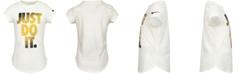 Nike Little Girls Cotton Just Do It T-Shirt
