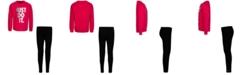 Nike Toddler Girls 2-Pc. Just Do It Sweatshirt & Leggings Set