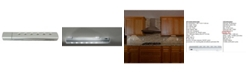 Creative Motion Battery-Operated 6 LED Light Under cabinet Light with Infra Red Sensor