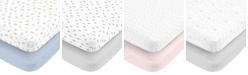 Carter's Cotton Sateen Fitted Crib Sheet 2-Pack