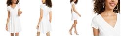 Sequin Hearts Juniors' Eyelet A-Line Dress