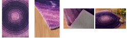 "Asbury Looms Finesse Cyclic 2100 20883 24 Purple 1'10"" x 3' Area Rug"