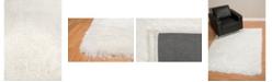"""Asbury Looms Bliss Mercia 2300 00113 58 White 5'3"""" x 7'2"""" Area Rug"""