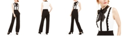Betsey Johnson Bow-Tie Jumpsuit