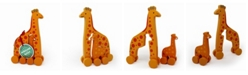 Jack Rabbit Creations Inc. Giraffe Mommy Baby Roly Poly Push Pull Toy