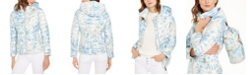 Calvin Klein Tie-Dye Hooded Packable Puffer Jacket