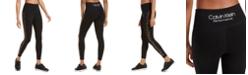 Calvin Klein Rhinestone High-Waist Leggings