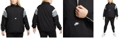 Nike Plus Size Heritage Half-Zip Active Jacket