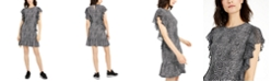 Michael Kors Ruffle-Sleeve Dress