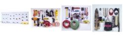 Triton Products DuraHook DuraHook Wall Organizer 24 Hooks, 2 Duraboards, 4 Piece Bin System and Mounting Hardware Kit