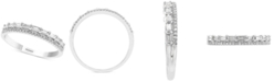 EFFY Collection EFFY® Diamond Two-Row Band (3/8 ct. t.w.) in 14k White Gold