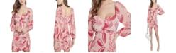 GUESS Cypress Smocked Printed Dress