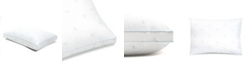 Calvin Klein Monogram Logo Extra Firm Support Cotton Pillow, Standard/Queen