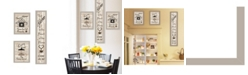 Trendy Decor 4U Trendy Decor 4u the Kitchen Collection I 3-piece Vignette by Millwork Engineering Collection