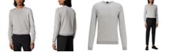 Hugo Boss BOSS Men's Fabello Open Grey Sweater