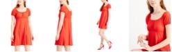 Ultra Flirt Juniors' Babydoll Dress