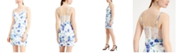 City Studios Juniors' Floral Bodycon Dress