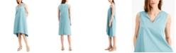 Alfani Handkerchief-Hem Dress, Created for Macy's