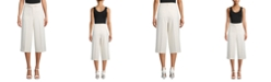 Anne Klein Crepe Tailored Culottes