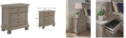 Signature Design By Ashley Lettner Two Drawer Nightstand