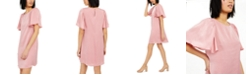 INC International Concepts INC Hammered-Satin Shift Dress, Created for Macy's