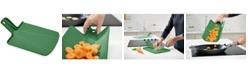 Joseph Joseph Chop2Pot Plus Small Folding Chopping Board, Forest Green
