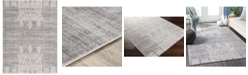"""Abbie & Allie Rugs Roma ROM-2324 Charcoal 5'3"""" x 7'1"""" Area Rug"""