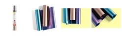 "cricut 12"" x 12"" Metallic Sportflex Iron-on Sampler Sheet, Pack of 3"