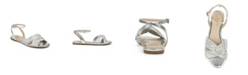Jewel Badgley Mischka Nicole Dress Flat Sandal