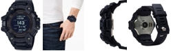 G-Shock Men's Solar Digital Connected Power Trainer Black Resin Strap Watch 55mm
