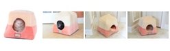 Armarkat 2-In-1 Cat Bed Cave Shape and Cuddle Pet Bed