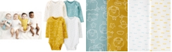 Carter's Baby 4-Pk. Long-Sleeve Sheep Cotton Bodysuits